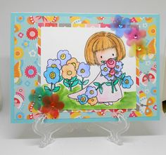 Flowers for you by Ginadapooh on Etsy