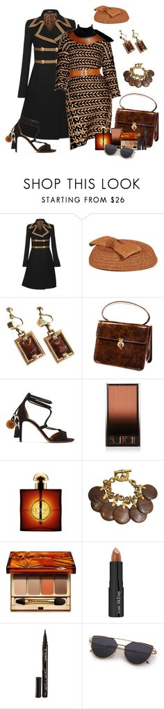 """Modern/Vintage Mix"" by lily0906 ❤ liked on Polyvore featuring Dolce&Gabbana, rag & bone, Marie Mercié, Surratt, Yves Saint Laurent, CÉLINE, Clarins, Trish McEvoy, Smith & Cult and modern"