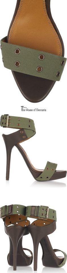 ~Ralph Lauren Jesalin canvas sandals   The House of Beccaria. Via @houseofbeccaria. #RalphLauren #sandals