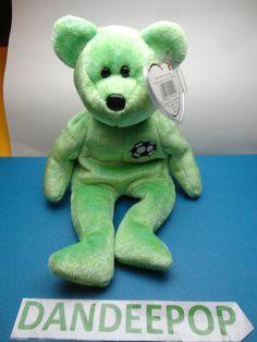 TY Beanie Baby Babie Kicks Original 1999 Stuffed Animal with tags find me at www.dandeepop.com