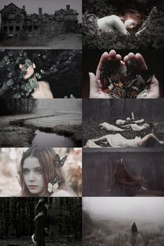 """the unseelie court aesthetic """"consists of the darkly-inclined fairies. unlike the Seelie Court, no offense is necessary to bring down their assaults. as a group (or """"host""""), they appear at night and assault travelers, often carrying them through the..."""