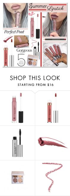 """""""The Perfect Pout: Summer Lipsticks"""" by brendariley-1 ❤ liked on Polyvore featuring beauty, Hourglass Cosmetics, Le Métier de Beauté and summerlipstick"""