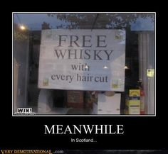 Lol ....I believe this sign !!! They love their whiskey !  My G-d I love their whiskey!