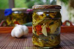 cukinia w oliwie Pickles, Cucumber, Food, Essen, Meals, Pickle, Yemek, Zucchini, Eten