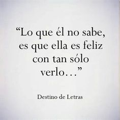 Love quotes for him & for her :guardada en frases amor y desamor The Words, More Than Words, Sad Love, Love You, Ex Amor, Frases Love, Quotes En Espanol, Love Phrases, Spanish Quotes