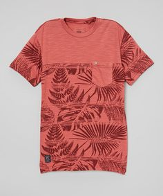 Love this Cranberry Red Titus Tee - Boys by PX Los Angeles on #zulily! #zulilyfinds