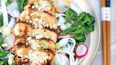 Ryžové rezance s brokolicou | Recepty.sk