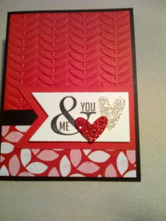 Stampin' Up! - Used Stampin Up products from the Jan-Jun 2014 Mini.  01-20-2014
