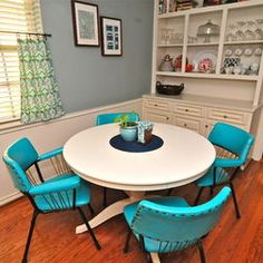 Bright Blue Bohemian Style Room Decor De