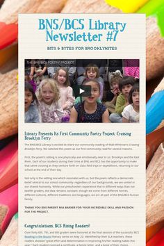 BNS/BCS Library Newsletter #7
