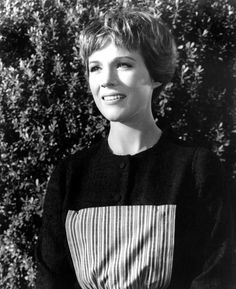 Julie Andrews, the original, the face.  What is that sound?  That is music.