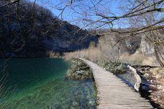 Plitvicer Lakes in Winter, Croatia