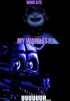 is FT Foxy with waffles the same as Purple Guy and toast? Five Nights At Freddy's, Fnaf Sl, Freddy Fazbear, Fnaf Freddy, Fnaf Wallpapers, Funtime Foxy, Fnaf Sister Location, Fnaf Drawings, Art Drawings