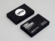 Uno Design Business Cards