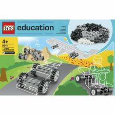 LEGO Education Wheels Set 779387 (286 Pieces). $42 on amazon and has enough pieces for 12 vehicles to be built at once. Perfect for build your own lego race car activity! Will need 2 and some ramps ( a job for hubby). Lego Wheels, Lego Decorations, Lego Racers, Car Activities, Legos, Lego Lego, Developmental Toys, Lego Creations, Toys For Girls