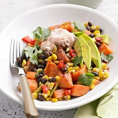 Sweet Potato Hash From Better Homes and Gardens, ideas and improvement projects for your home and garden plus recipes and entertaining ideas.