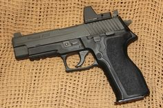 SIG P226 with Red Dot Sight