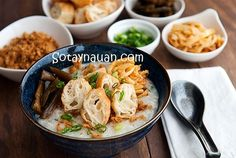 Nấu cháo gà ngon cho bé ngày chuyển mùa on http://sotaynauan.com