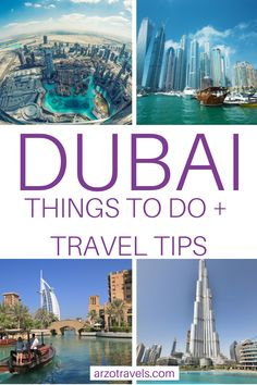 Here are the top things to do in Dubai - my travel tips for your Dubai trip. Find out where to go and what to see plus many more travel tips. Whether you stay for a day or for longer - with these tips you will find out about the top places to visit and more I Dubai activities I Dubai travel tips I What to do in Dubai I Travel in Dubai Dubai Trip, Dubai Vacation, Dubai Travel, Asia Travel, Middle East Destinations, Amazing Destinations, Travel Destinations, Cheap Places To Travel, Cool Places To Visit