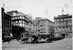 Piazza Barberini Anno: cartolina viaggiata nel 1934