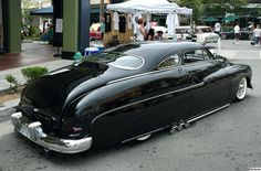 1949 Mercury Coupe - lead sled - black - rvr 2 by Pat Durkin - Orange County, CA, via Flickr