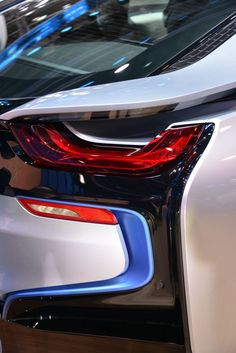 BMW i8 Tail Lamp -- Curated by Penticton Auto Glass & Upholstery Ltd. | 110-48 Industrial Avenue West. Penticton, BC V2A 6M2  | 250-493-7222