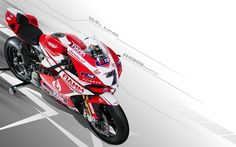2013 Red Ducati 1199 Panigale R Superbike