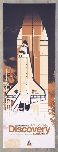 Science Space Illustration Craft Rocket Suit Satellite Usa 12X16 Framed Print