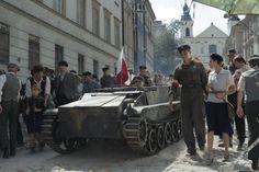 """#GabrysiaMazurek - zdjęcie z planu filmu """"Miasto 44"""" w reż. Janka Komasy. Autorką zdjęcia jest Ola Grochowska."""