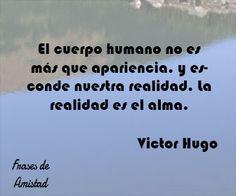 Frases de almas gemelas de Victor Hugo
