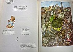 Book Of Nursery And Mother Goose Rhymes Marguerite by mybonvivant