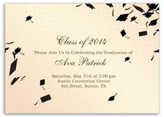 37 best graduation cards images on pinterest graduation cards cream beige printable graduation invitation example stopboris Choice Image