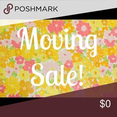 Moving Sale Moving Sale. Make offers. More items listed daily. Other