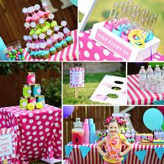 Circus Theme Birthday Party - LaurenADesigns