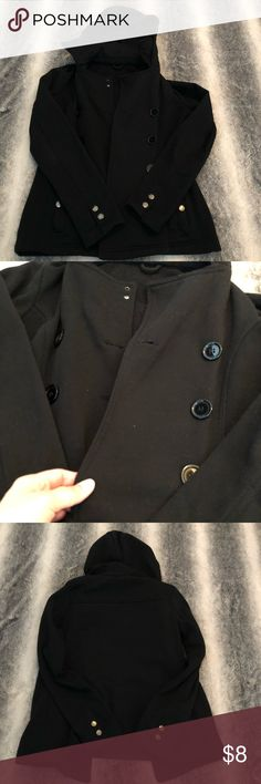 97b449a24 Black womens size small pea coat This is a women s size small pea coat  bought from