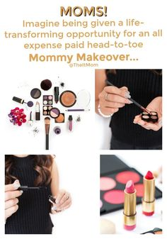 I'm so excited about the Total Mom Makeover reality webshow! Mommy Makeovers always sound like plastic surgery, but this one's different and I'm thrilled to see it all unfold!