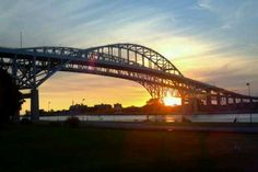 Beautiful sunrise @ Port Huron, MI.  A great place to grow up... :)  Miss it!