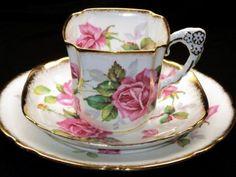 russian china tea cups | 19th Century Limoges Coffee Cups And Saucers - Serbagunamarine.com