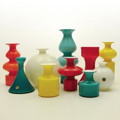 My complete CARNABY collection - Per Lüten, Holmegaard, 1968