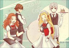 Disney - Hiccup, Jack, Merida and Rapunzel - RotBTD cafe