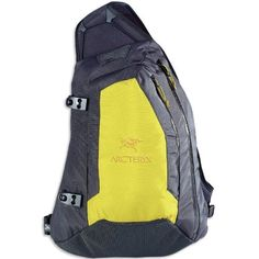 Arc'teryx Quiver Backpack - Lime by Arc'teryx. $82.09. When lapping up the backcountry, the Arc'teryx Quiver Backpack provides a unique three-point suspension design for easy and quick access. Strategically designed for a shovel, probe and hydrator, this pack swings around to provide exceptional access. Performance features include side mounted attachment clips, a front security pocket, main compartment pocket, hydration hose clip and HydroPort, and WaterTight external zippers...