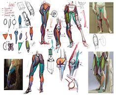 Lecture Notes on the leg by mhampton - Michael Hampton - CGHUB via PinCG.com