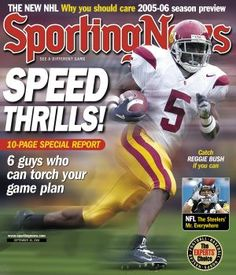 USC Trojans RB Reggie Bush - September 30, 2005