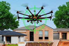 Should you be allowed to prevent drones from flying over your property?