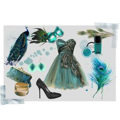 Peacock Masquerade Dress Shoes Mask Hair Style Savannah Has For Logans Party To