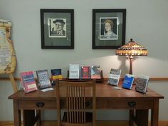 FYS Display in the Writer's Voice Alcove at SLC