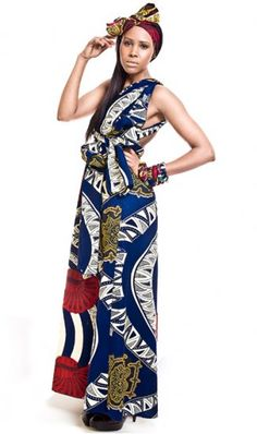 Afro-Chique // TRELAWNY MULTIWAY MAXI DRESS