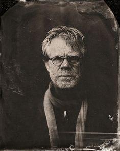 Dramáticos retratos de celebridades contemporáneas al estilo 1860 2014 Sundance TIn Type Portraits - William H. Macy
