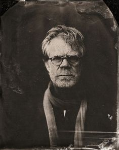 Dramáticos retratos de celebridades contemporáneas al estilo 1860 2014 Sundance TIn Type Portraits - William H. Macy