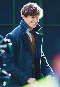 Eddie Redmayne looking adorable as always